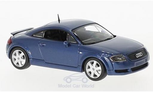 Audi TT coupe 1/43 Maxichamps Coupe metallise blue 1998 diecast model cars