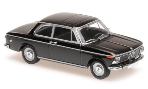 Bmw 1600 1/43 Maxichamps black 1968 diecast model cars