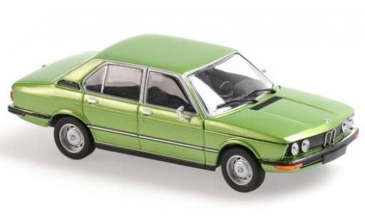Bmw 520 1/43 Maxichamps (E12) metallise verte 1972 miniature