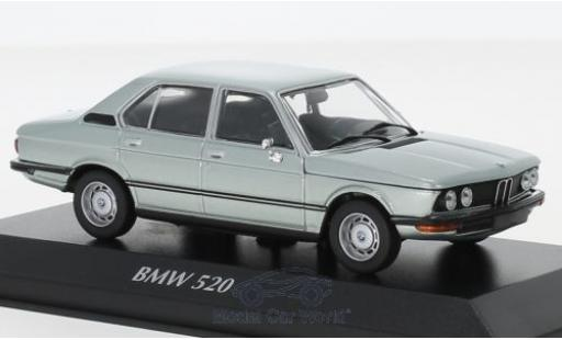Bmw 520 1/43 Maxichamps (E12) metallise bleue 1972 miniature