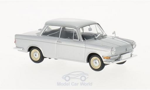 Bmw 700 1/43 Maxichamps LS grey 1960 diecast model cars