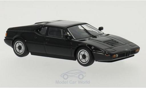 Bmw M1 1979 1/43 Maxichamps noire 1979 miniature