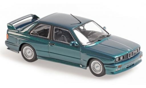 Bmw M3 1/43 Maxichamps (E30) metallise verde 1987 coche miniatura