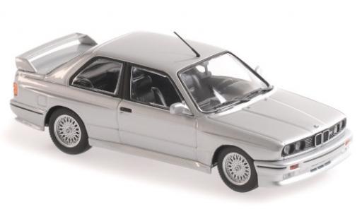 Bmw M3 1/43 Maxichamps (E30) gris 1987 coche miniatura