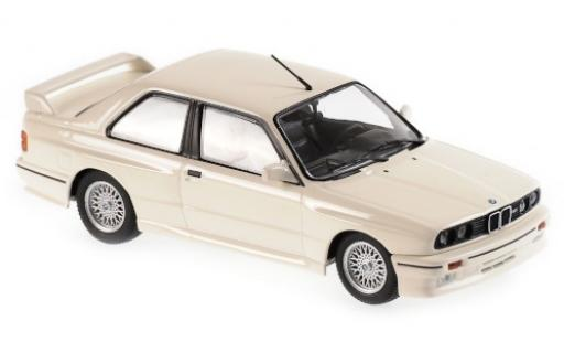 Bmw M3 1/43 Maxichamps (E30) white 1987 diecast model cars
