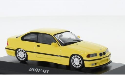 Bmw M3 1/43 Maxichamps (E36) yellow 1992 diecast