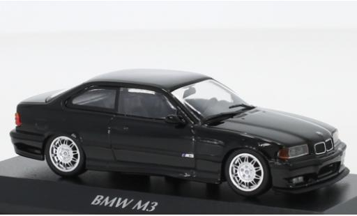 Bmw M3 1/43 Maxichamps (E36) black 1992 diecast