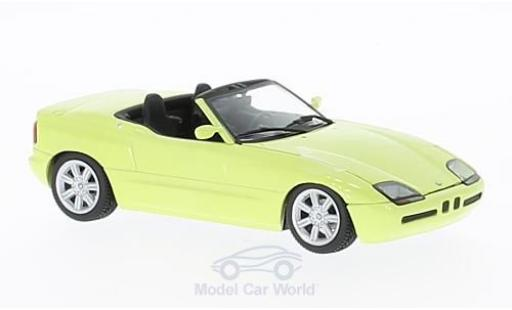 Bmw Z1 1/43 Maxichamps (E30) yellow 1991 diecast model cars