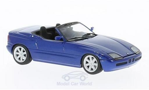 Bmw Z1 1/43 Maxichamps (E30) metallise bleue 1991 miniature