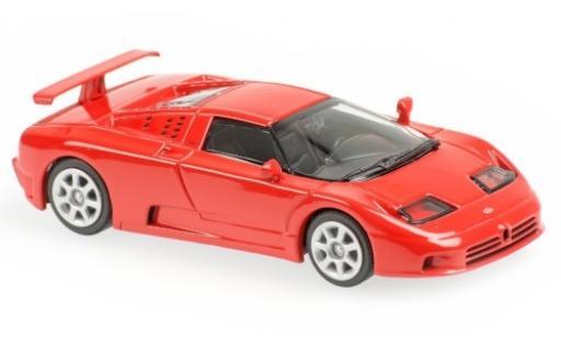 Bugatti EB110 1/43 Maxichamps EB 110 rouge 1994 miniature