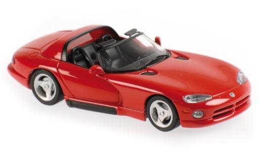 Dodge Viper 1/43 Maxichamps red 1993 diecast model cars