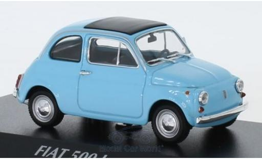 Fiat 500 1/43 Maxichamps L blue 1965 diecast model cars