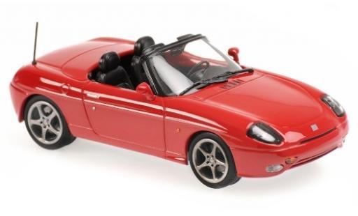 Fiat Barchetta 1/43 Maxichamps rojo 1995 coche miniatura