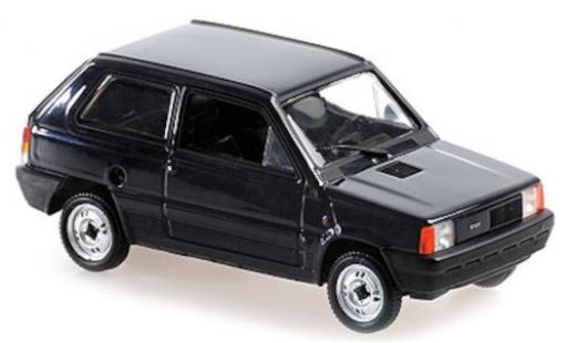Fiat Panda 1/43 Maxichamps bleue 1980 miniature