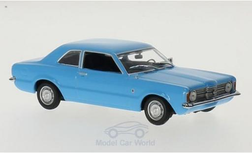 Ford Taunus 1970 1/43 Maxichamps bleue miniature