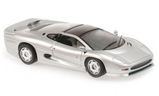 Jaguar XJ 1/43 Maxichamps 220 grey RHD 1991 diecast model cars