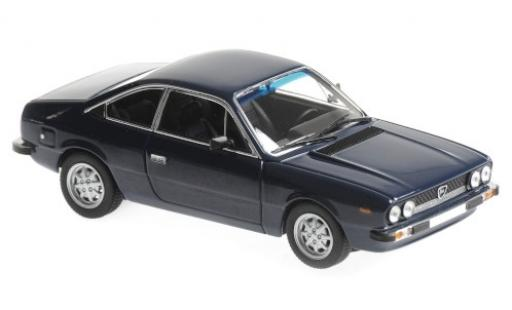 Lancia Beta 1/43 Maxichamps 2000 Coupe bleue 1980 miniature
