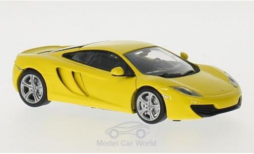 McLaren MP4-12C 1/43 Maxichamps 12C jaune 2011 miniature