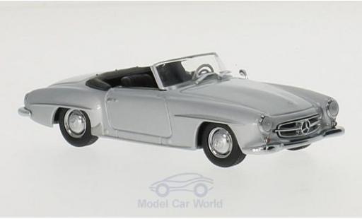 Mercedes 190 SL 1/43 Maxichamps SL (W121) grise 1955 miniature