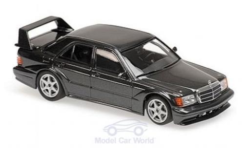 Mercedes 190 1/43 Maxichamps E 2.5-16 EVO 2 métallisé noire 1990 miniature