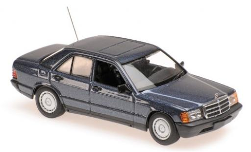 Mercedes 190 1/43 Maxichamps E (W201) metallise bleue 1984 miniature