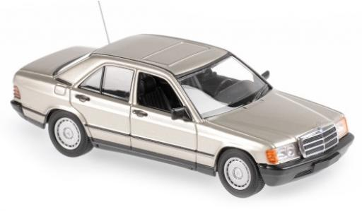 Mercedes 190 1/43 Maxichamps E (W201) metallise beige 1984 diecast model cars