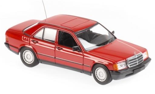 Mercedes 190 1/43 Maxichamps E (W201) red 1984 diecast model cars