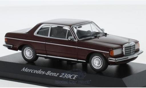 Mercedes 230 1/43 Maxichamps CE (W123) red 1976 diecast model cars