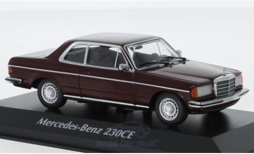 Mercedes 230 1/43 Maxichamps CE (W123) rouge 1976 miniature