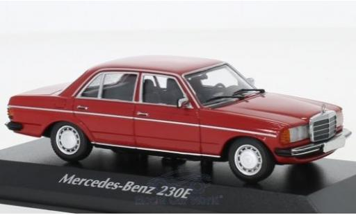 Mercedes 230 1/43 Maxichamps E (W123) rouge 1982 miniature