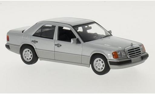 Mercedes 230 1/43 Maxichamps E (W124) grey 1991 diecast model cars
