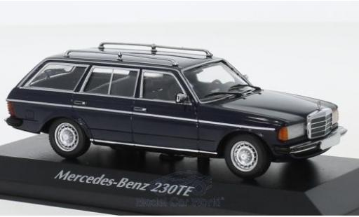 Mercedes 230 1/43 Maxichamps TE (W123) bleue 1982 miniature