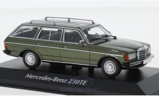 Mercedes 230 1/43 Maxichamps TE (W123) metallise green 1982 diecast model cars