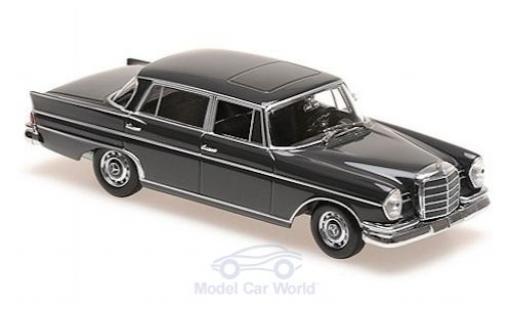 Mercedes 300 1/43 Maxichamps SE lang (W112) grise 1963 miniature