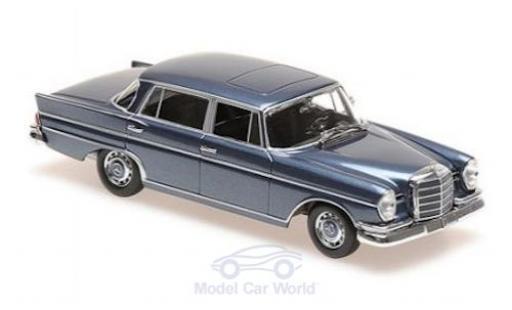 Mercedes 300 1/43 Maxichamps SE lang (W112) métallisé bleue 1963 miniature
