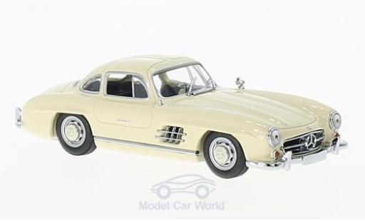 Mercedes 300 SL 1/43 Maxichamps (W198I) beige 1955 miniature