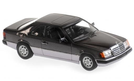 Mercedes Classe E 1/43 Maxichamps 320 CE-24 (C124) metallise grigio 1991 modellino in miniatura