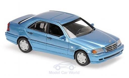 Mercedes Classe C 1/43 Maxichamps (W202) metalico azul 1997 miniatura