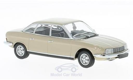 NSU RO 1/43 Maxichamps Ro 80 beige 1972 miniature
