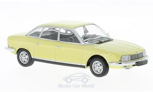 NSU RO 1/43 Maxichamps Ro 80 jaune 1972 miniature