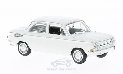 NSU TT 1/43 Maxichamps blanche 1967 miniature