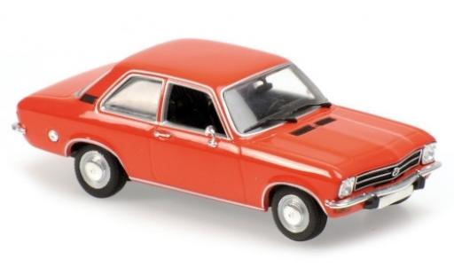 Opel Ascona 1/43 Maxichamps A orange 1970 miniature