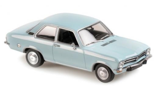 Opel Ascona 1/43 Maxichamps A bleue 1970 miniature