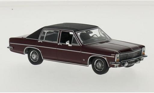 Opel Diplomat 1/43 Maxichamps B rouge/noire 1969 miniature