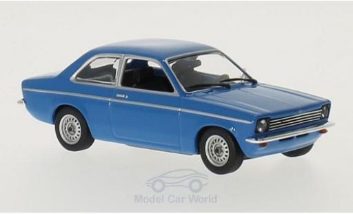 Opel Kadett E 1/43 Maxichamps C blue 1974 diecast