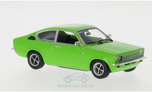 Opel Kadett E 1/43 Maxichamps C Coupe green 1974 diecast