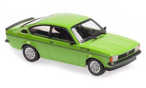 Opel Kadett 1/43 Maxichamps C GT/E verte 1978 miniature