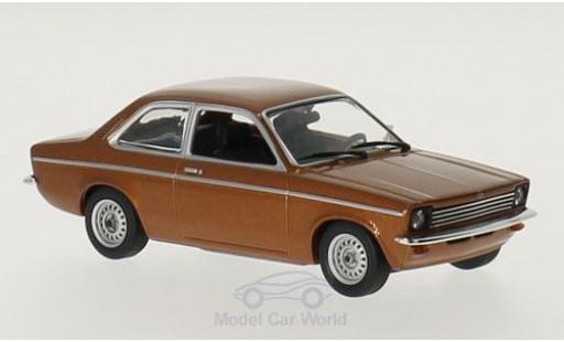 Opel Kadett E 1/43 Maxichamps C metallise marron 1974 miniature