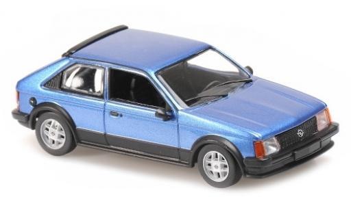 Opel Kadett 1/43 Maxichamps D SR metallise bleue 1982 miniature