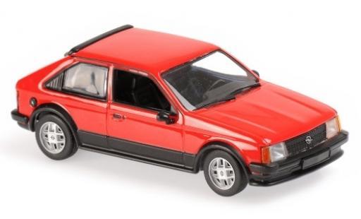 Opel Kadett 1/43 Maxichamps D SR rouge 1982 miniature